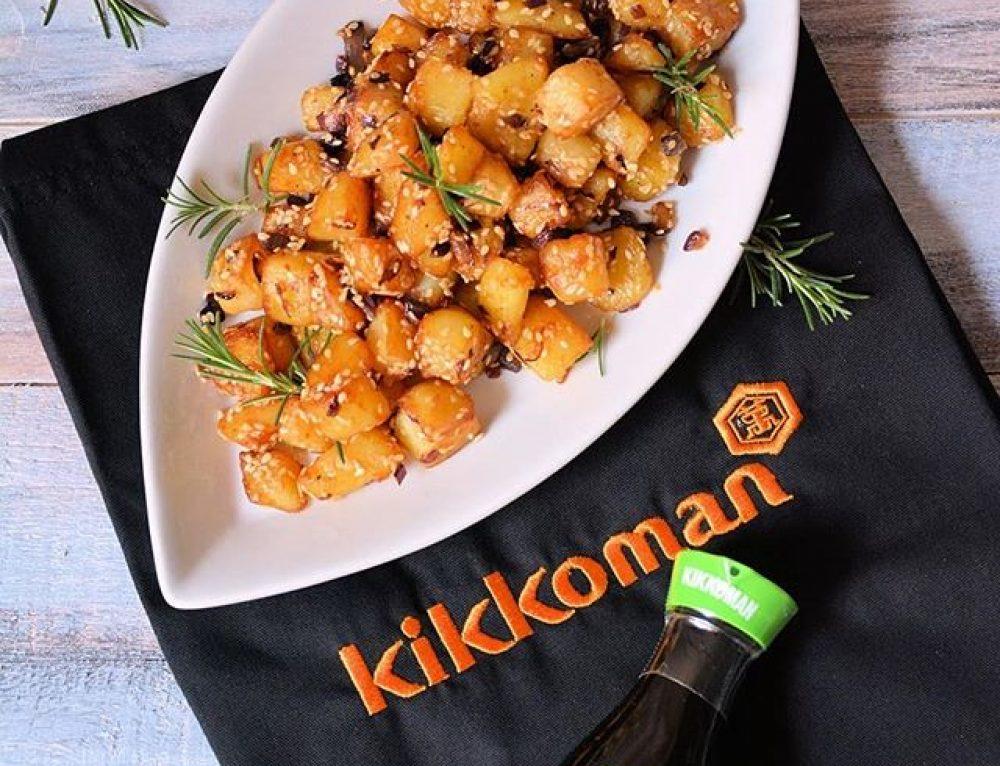 Savršen krompir sa susamom i Kikkoman sosom od soje u saradnji sa @minjinakuhinjica